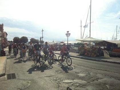 Aφιέρωμα ποδηλατοδρομίες Αίγινας 2012