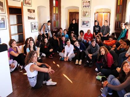Επίσκεψη μαθητών του ΕΠΑΛ Αίγινας σε έκθεση φωτογραφίας