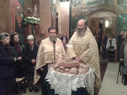 Εσπερινός στον Άγιο Διονύσιο της Παχειάς Ράχης