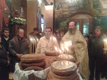 Πανηγυρική Θεία Λειτουργία για τον προστάτη της Παχειάς Ράχης