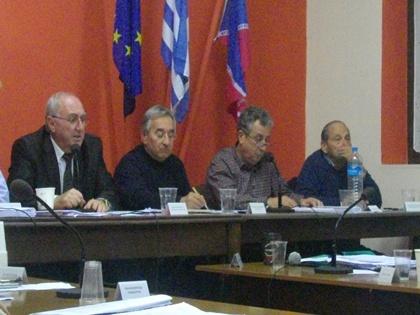 Η θεομηνία της Δευτέρας απασχόλησε το Δημοτικό Συμβούλιο