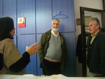 Ο υποψήφιος βουλευτής ΚΚΕ Γιάννης Ντουνιαδάκης περιόδευσε στην Αίγινα