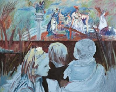Έκθεση ζωγραφικής της Κυριακής Χριστακοπούλου στη Σύρο