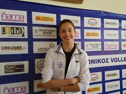 Η Ιωάννα Βογιατζόγλου ταξιδεύει στην Άγκυρα με την Εθνική ομάδα