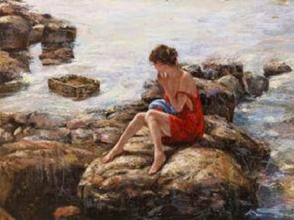 Οδυσσέας Ελύτης «Η Μαρίνα των βράχων»