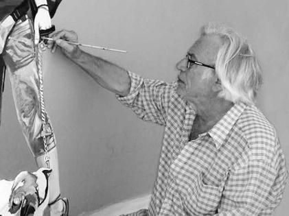Μνημόσυνο για τον ζωγράφο Γιάννη Σανταντόνιο