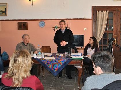 Ο υφυπουργός Εργασίας Τ. Πετρόπουλος σε εκδήλωση για το Ασφαλιστικό