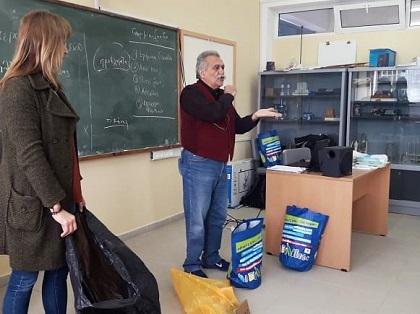 Συμμετοχή του Γυμνασίου Μεσαγρού σε πρόγραμμα ευαισθητοποίησης στην ανακύκλωση